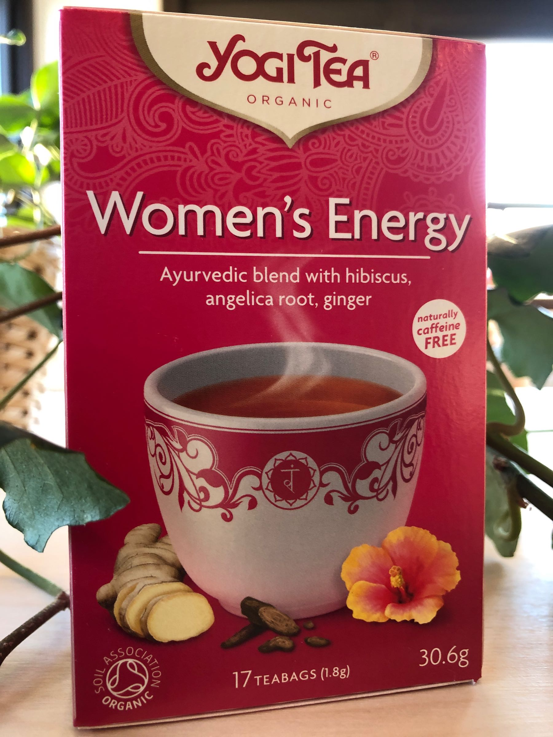 Womans energy Yogi Te