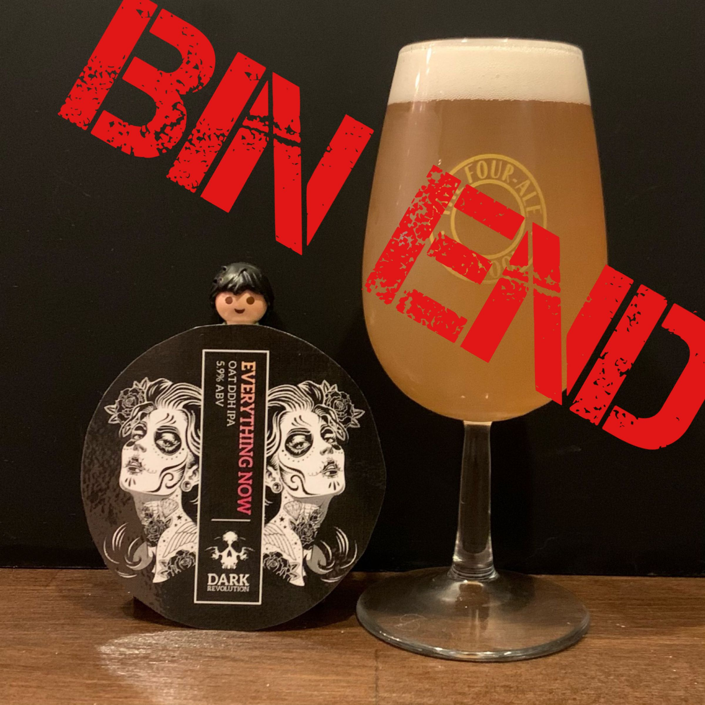 Bin End Keg - Craft Keg - Dark Revolution-  Everything Now - Oat DDH Pale - 5.9% (1 Crowler)