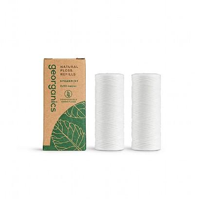 Compostable Corn Dental Floss Refill Pack