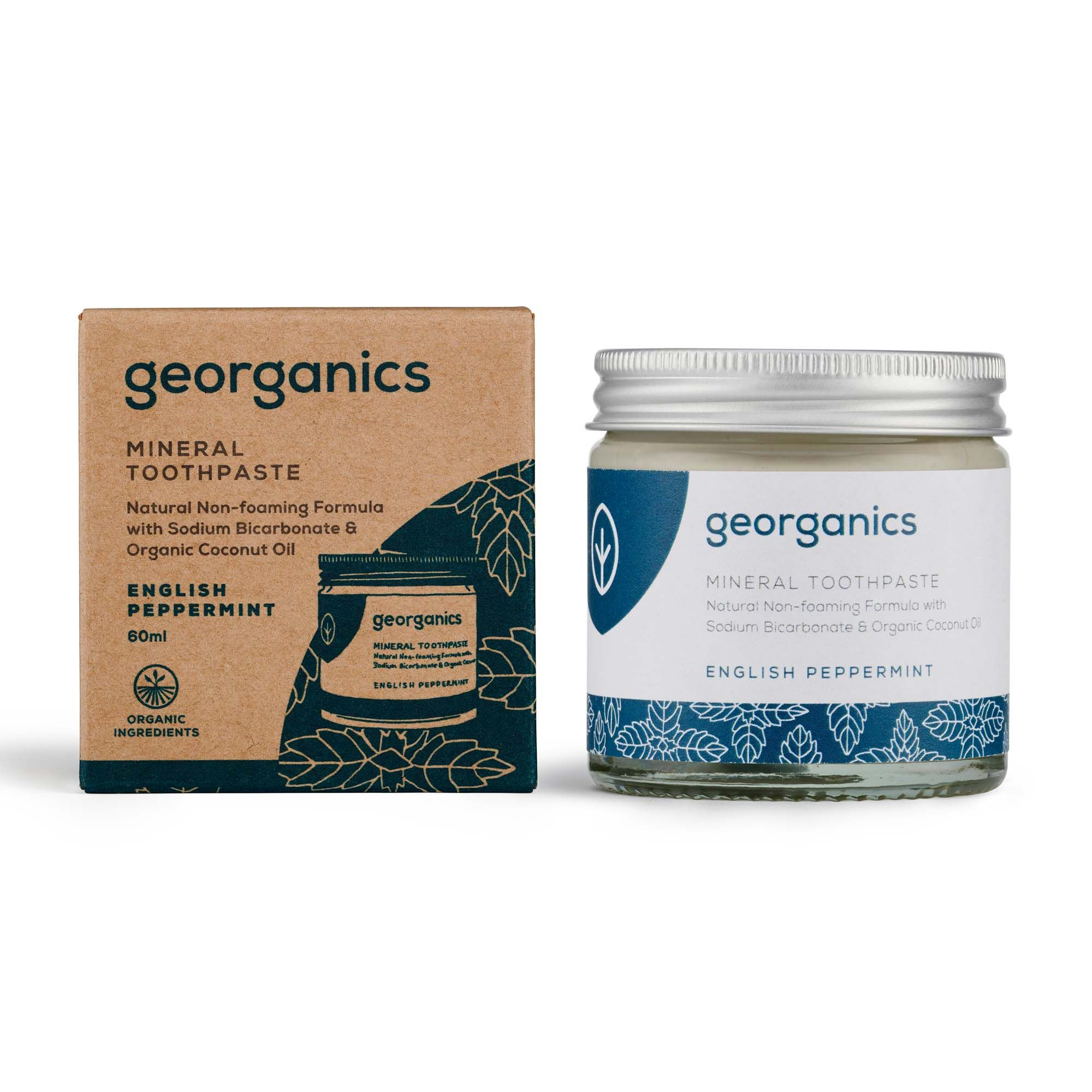 Georganics Mineral Toothpaste 60ml - Various Flavours