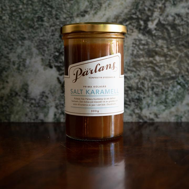 Pärlans kolasås - Salt karamell