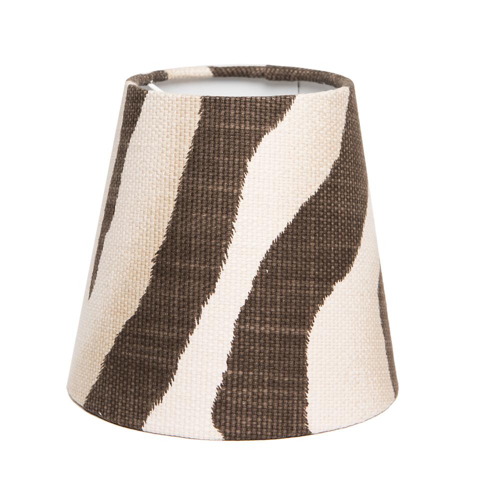Lampskärm - Ralph Lauren, Tangier zebra