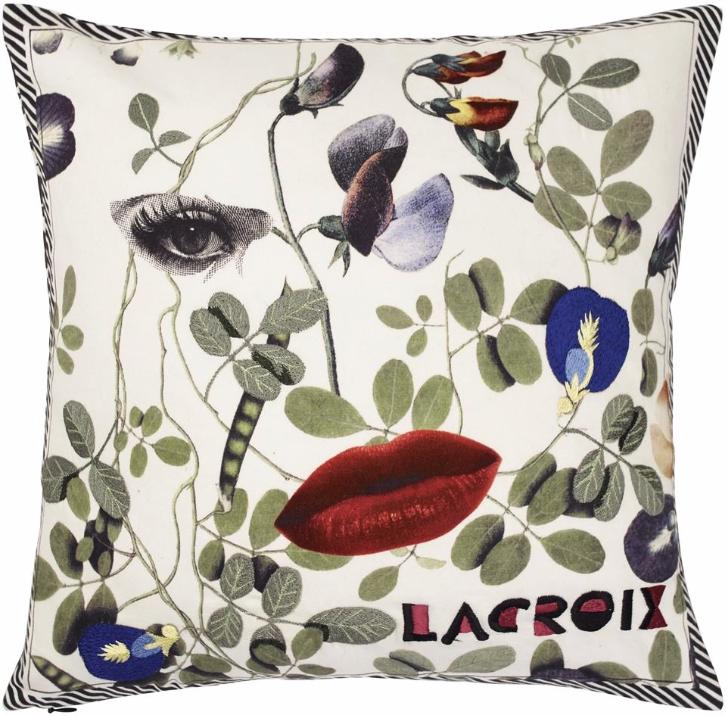 Christian Lacroix - Dame Nature Printemps kudde