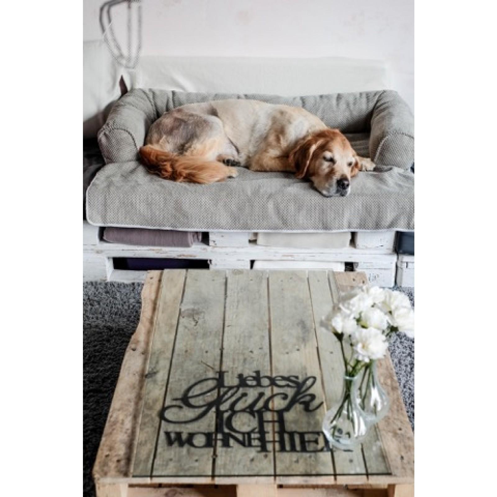 Hundbädd SNOOZER Bolstered Sofa Throw