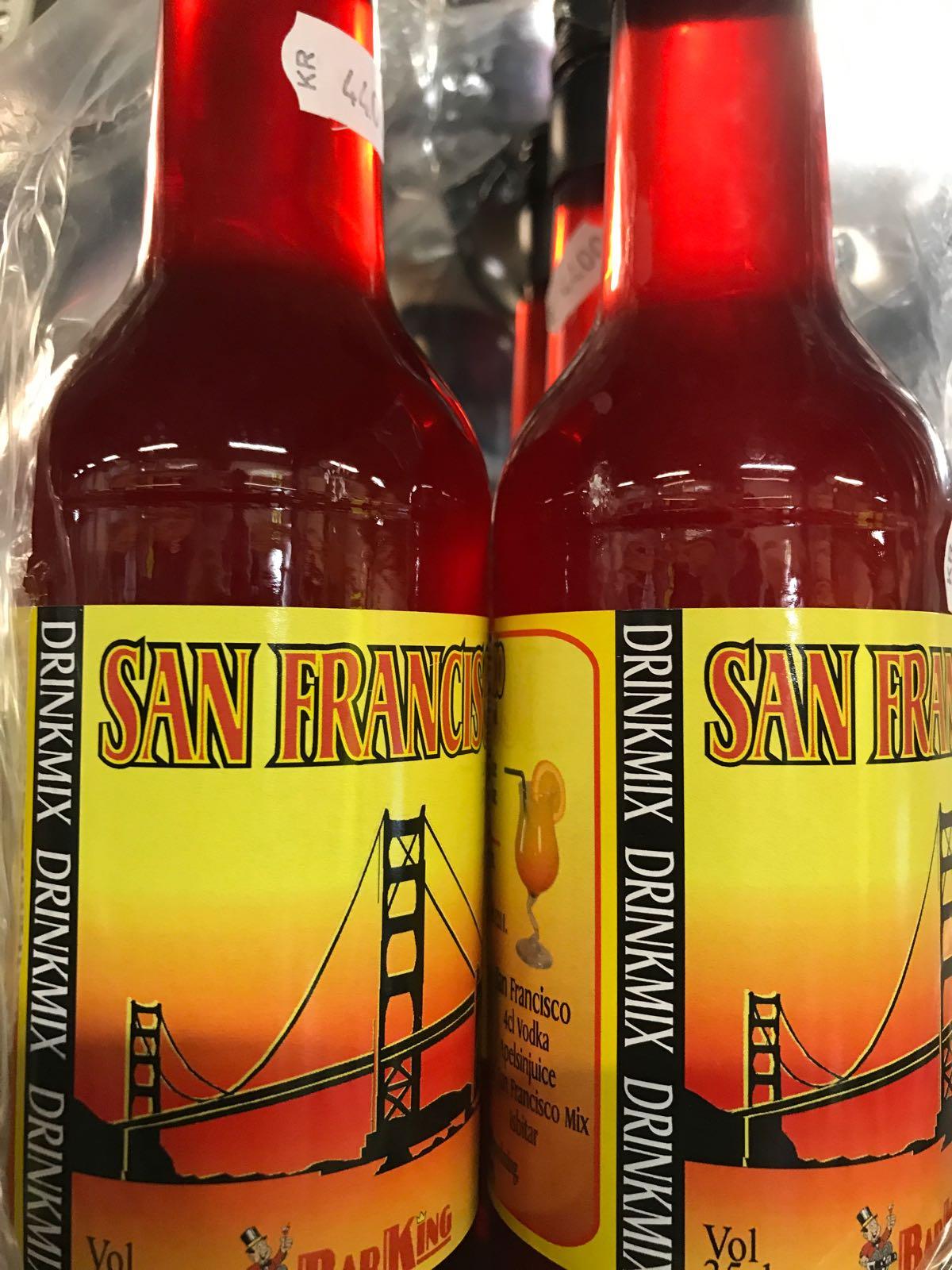 Drinkmix SAN Fransico