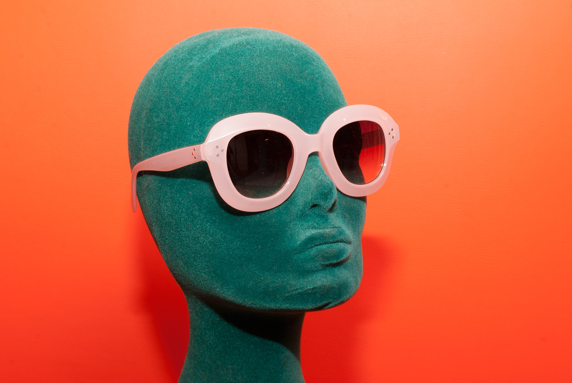 Pink 60's Style Shades