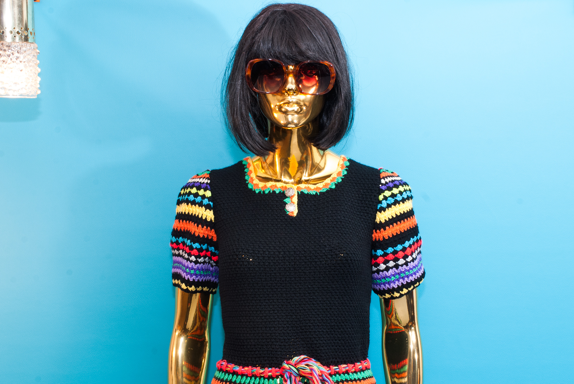 70's Crocheted Dress