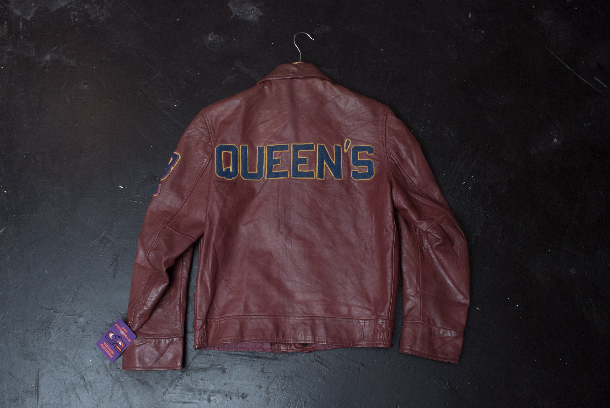 70's/80's Varsity Leather Jacket