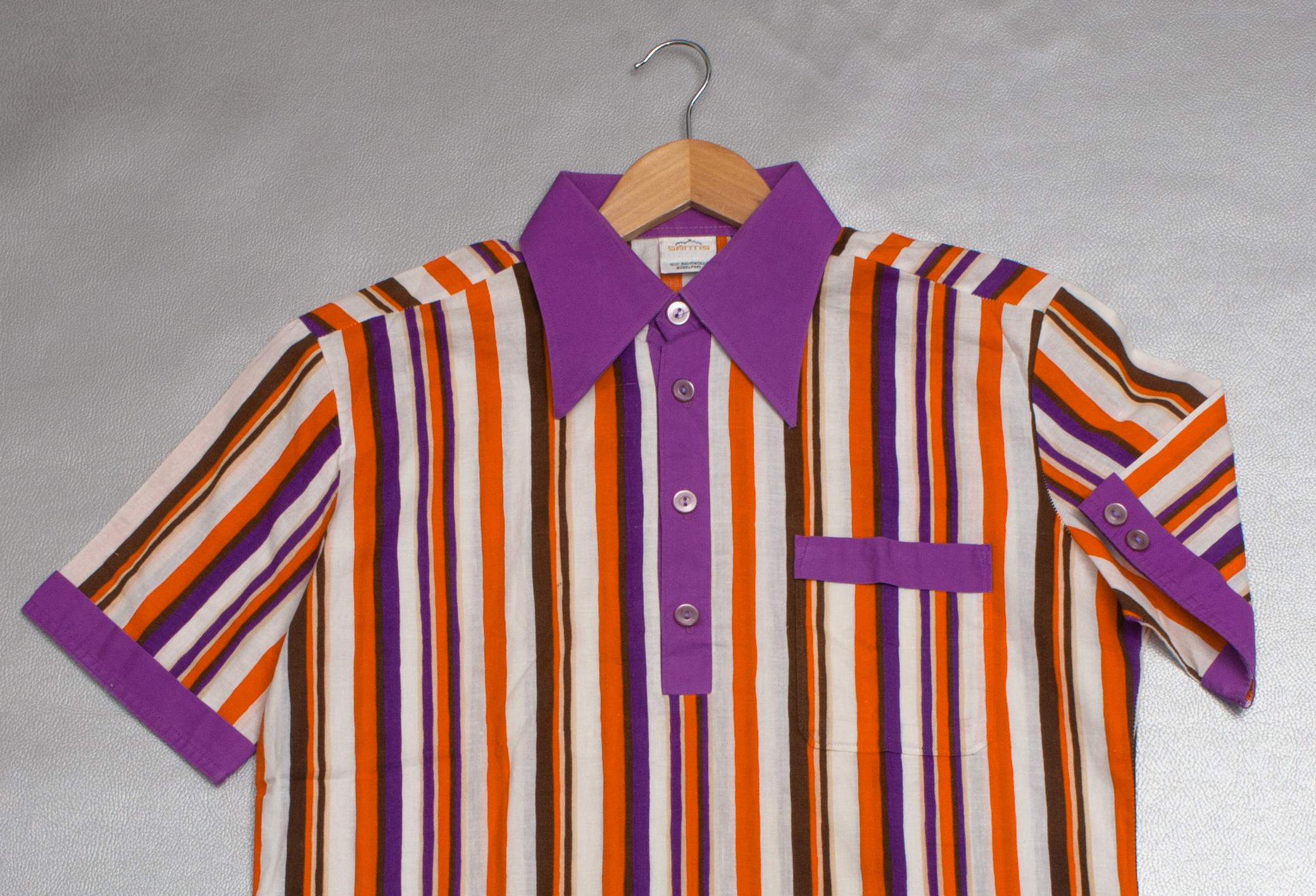 1970's Candy Stripe Shirt