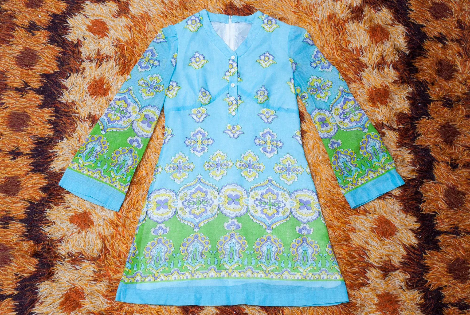 1970's Groovy Mini Dress