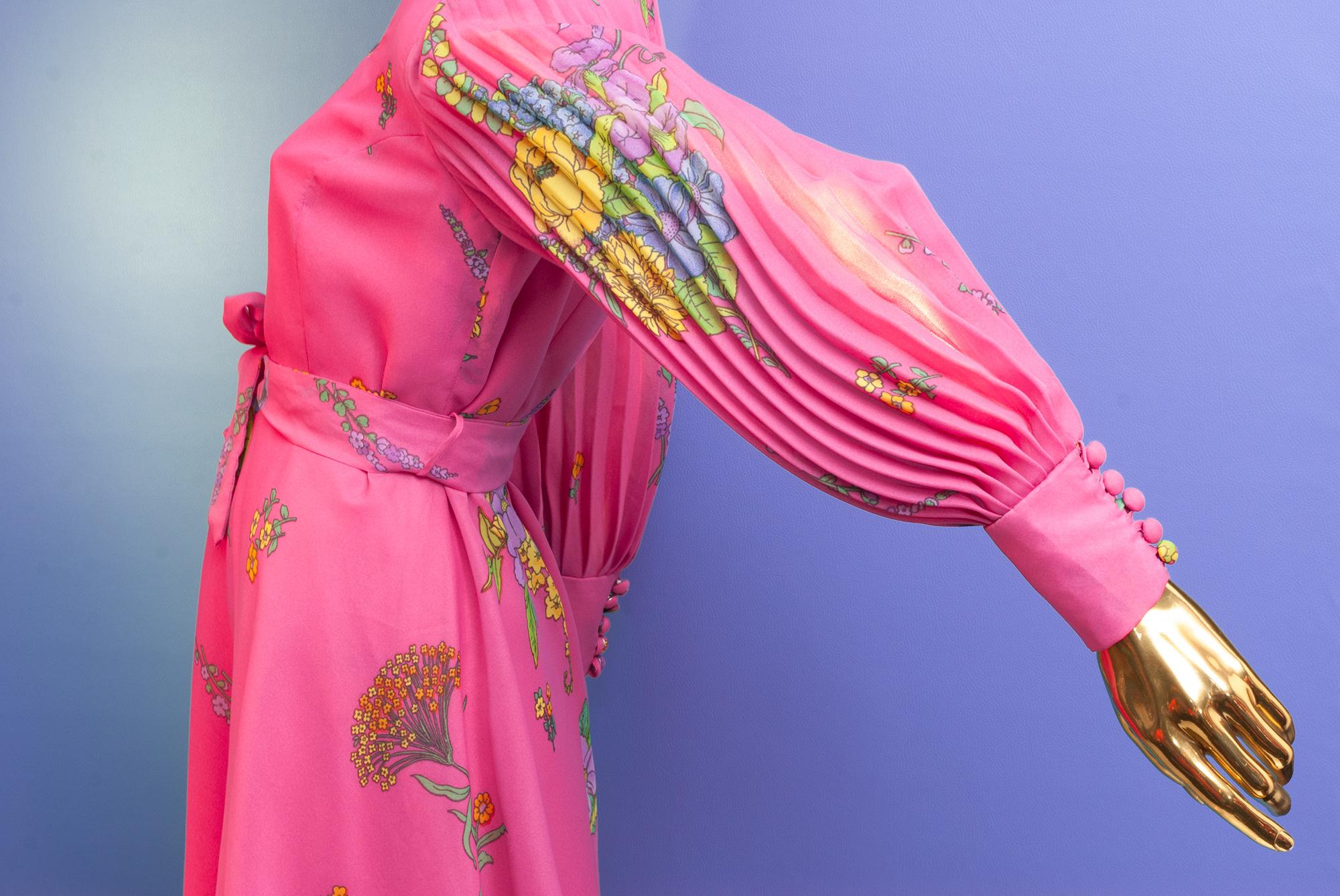 70's Fancy Sleeve Dress