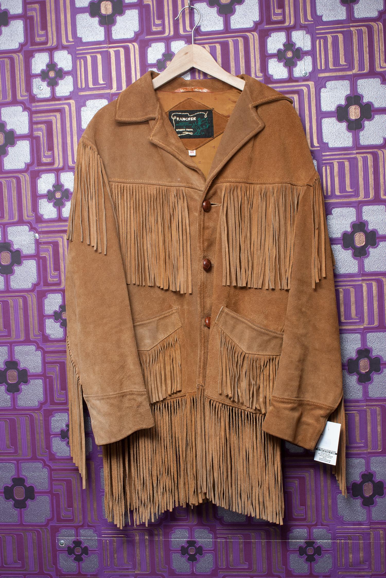 70's Schott Bros. Rancher Fringe Jacket