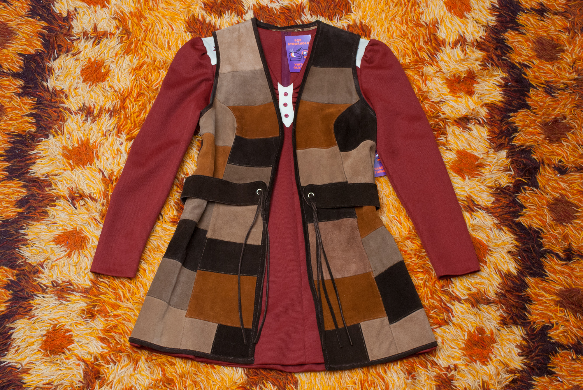 70's Suede Vest/Dress