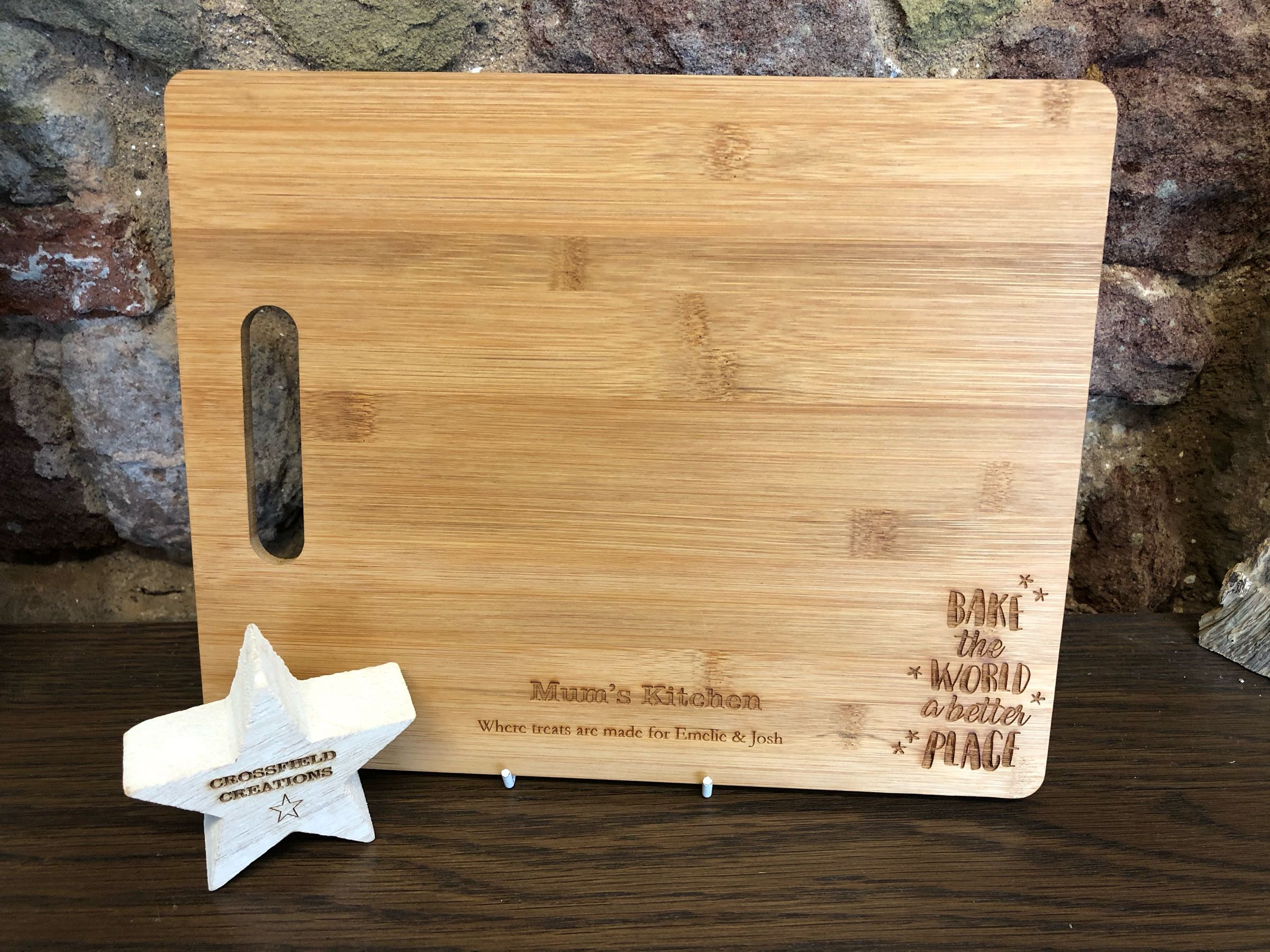 Personalised Chopping board