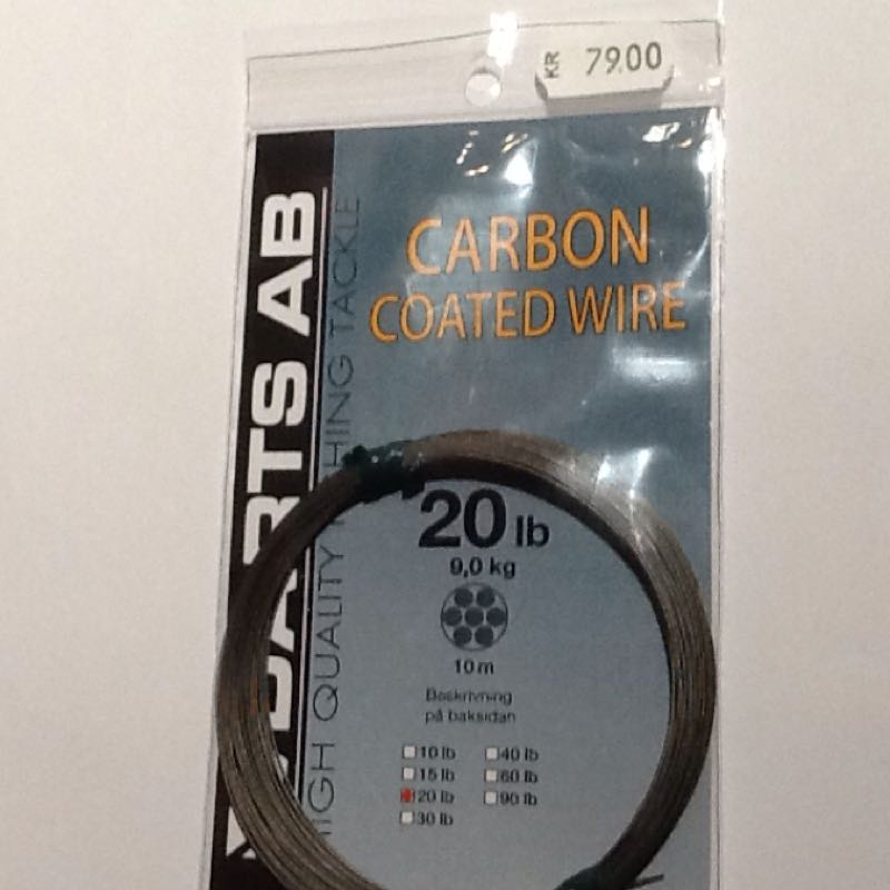 Darts carbon coated wire 20lb