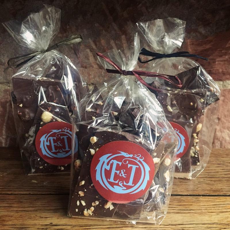 Dark Milk Chocolate with Hazelnuts & Sea Salt
