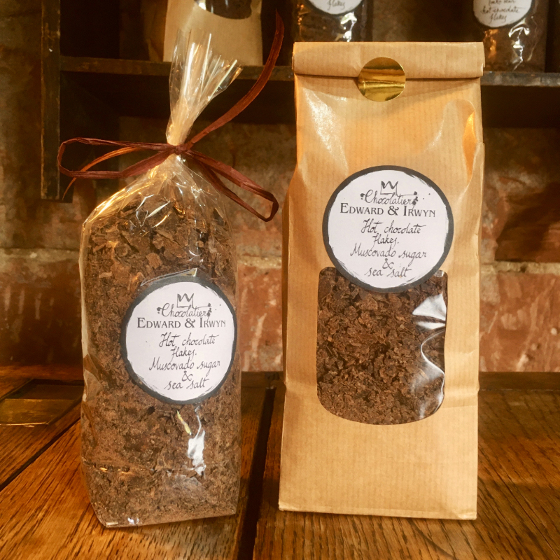Muscovado Sugar & Sea Salt Hot Chocolate Flakes