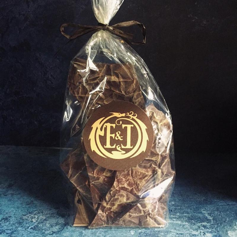 Dark Milk Chocolate with Cardamom, Vanilla, Tonka Bean & Cocoa Nibs