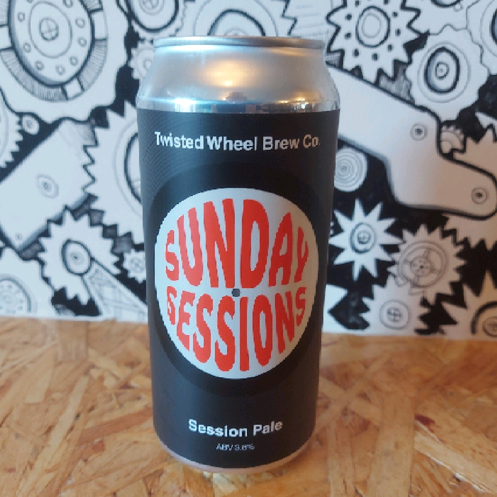 Twisted Wheel Brew Co Sunday Sessions Session IPA 3.8%