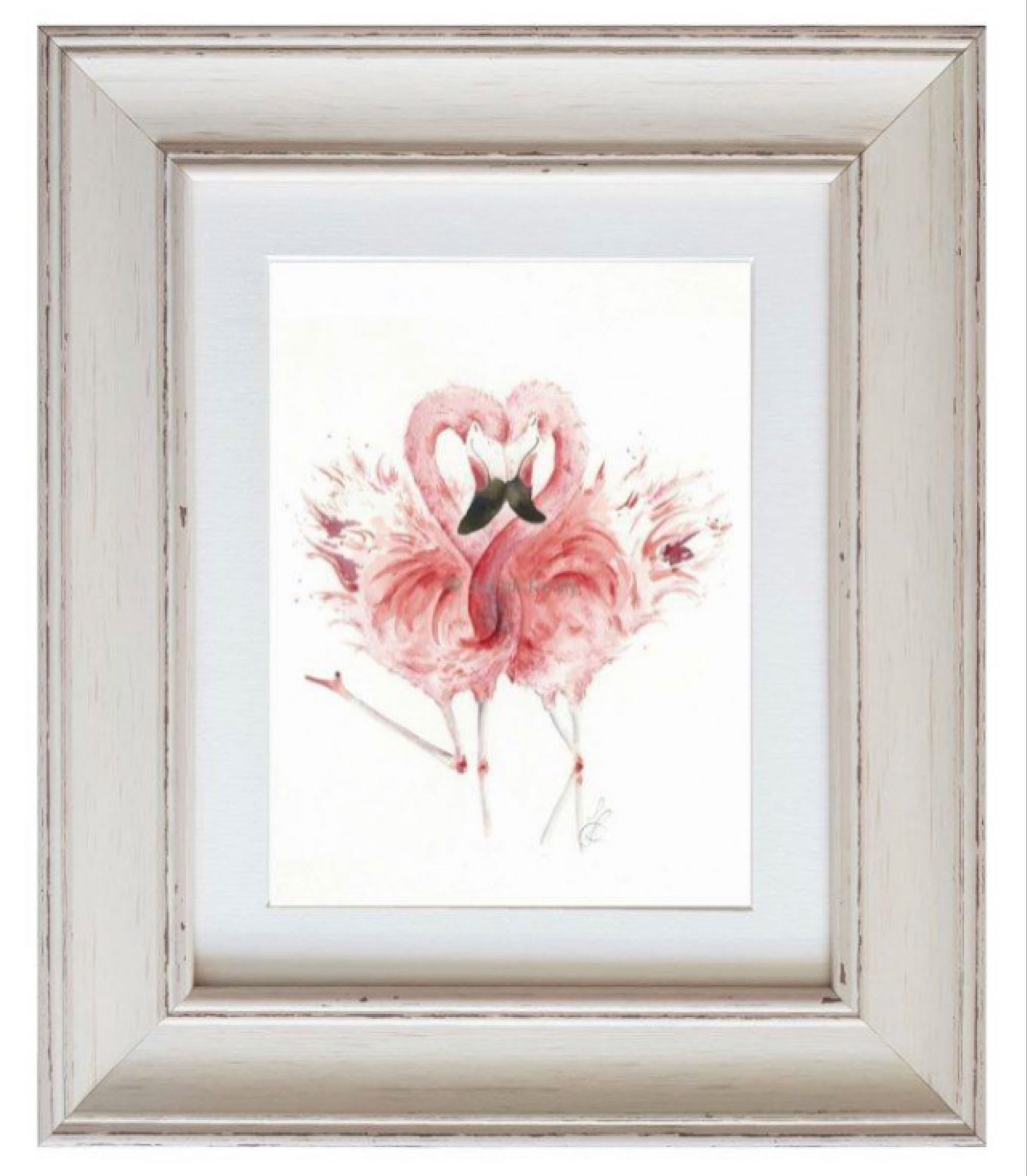 Pretty in Pink Framed Print by Sarah Reilly  28cmx33cm