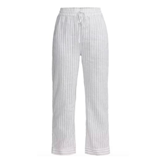 Holebrook - housut - valkoraidallinen