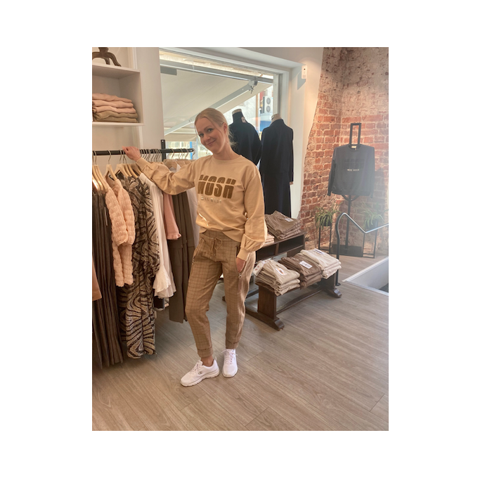 MAC - housut - beige