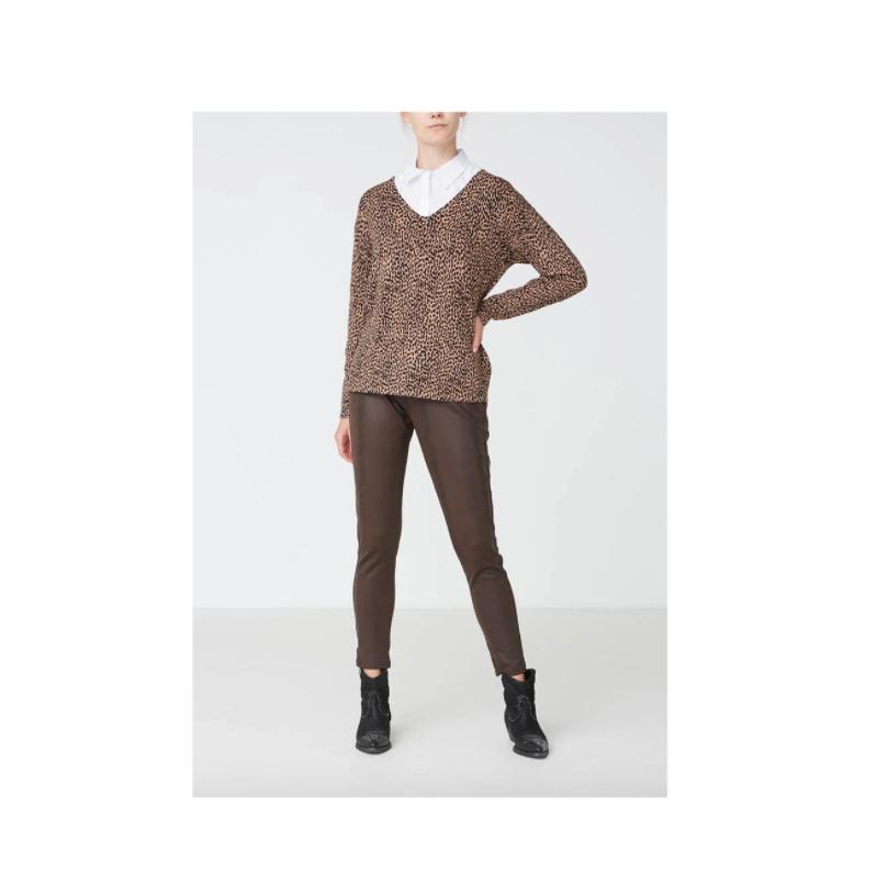 iSay - housut - ruskea