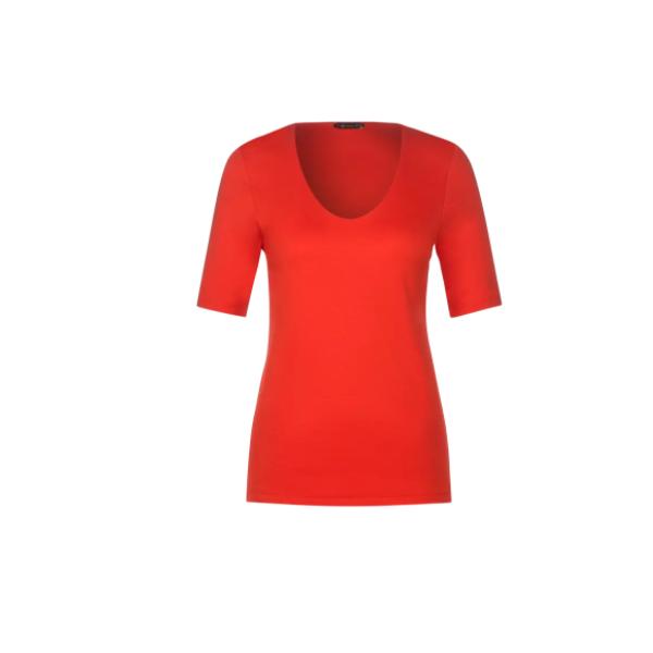 Street One - t-paita - punainen