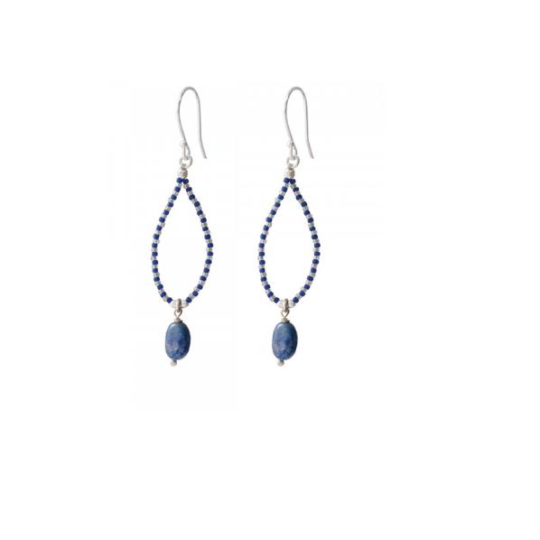 A Beautiful Story - korvakorut - Lapis Lazuli