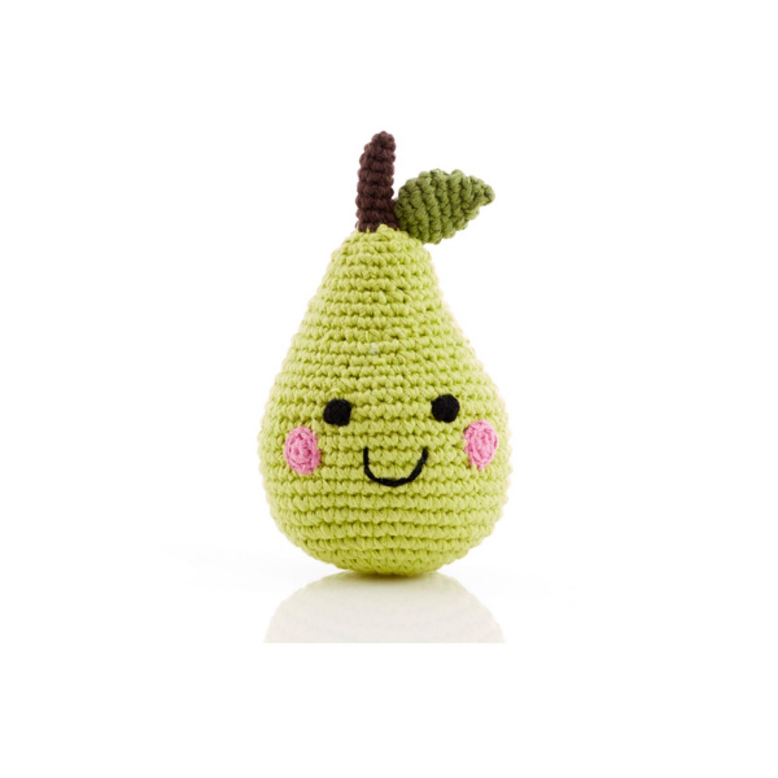 Pebble - Crochet Pear Rattle