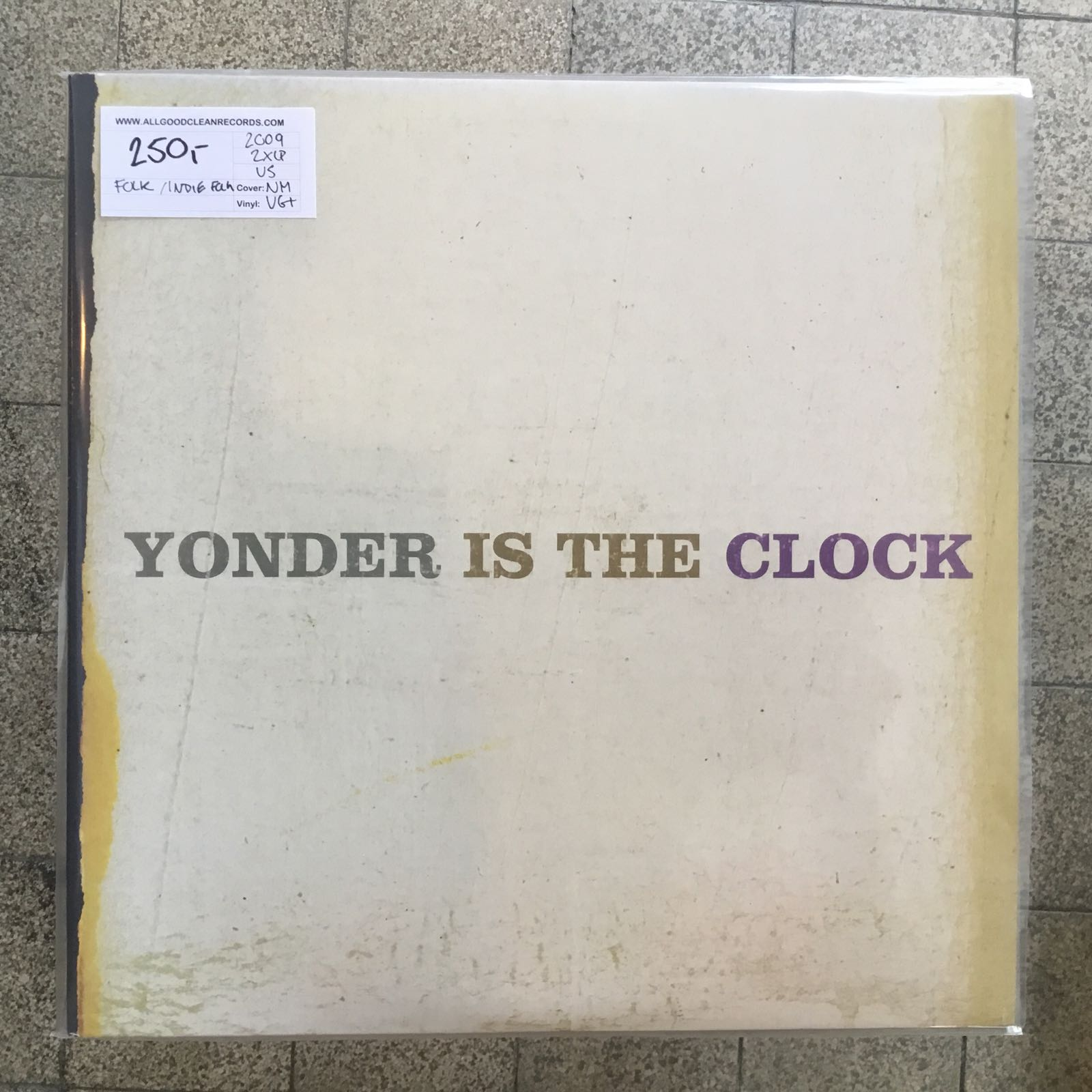 The Felice Brothers ‎– Yonder Is The Clock [2xLP] (2. hand)