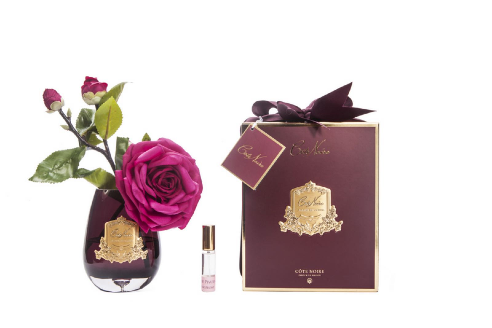 Cote Noire Carmaine Red Fragranced Tea Rose With Fragrance
