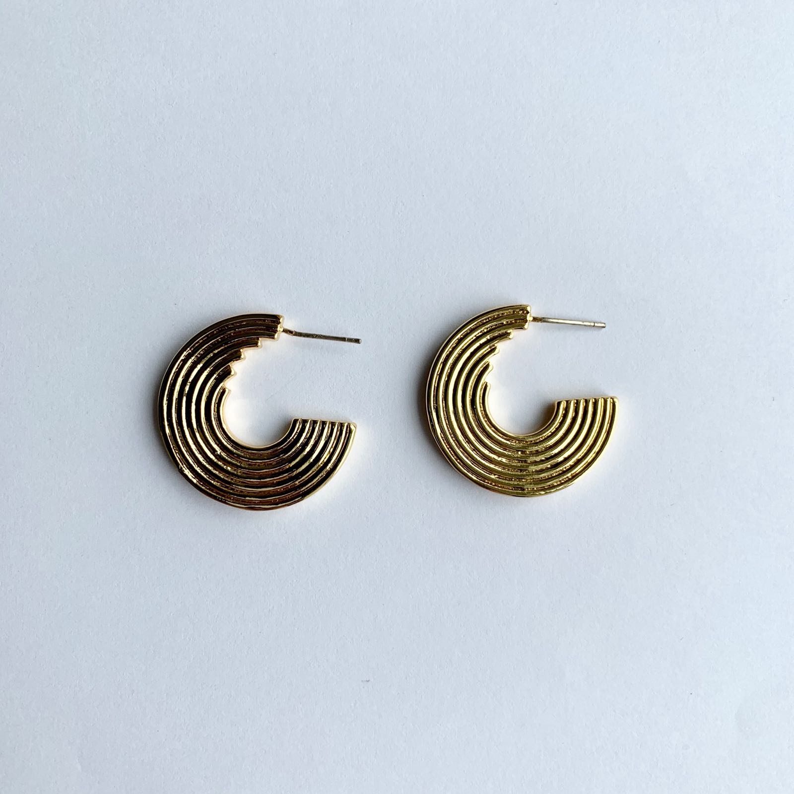 Anais Gold Plated Brass Earrings