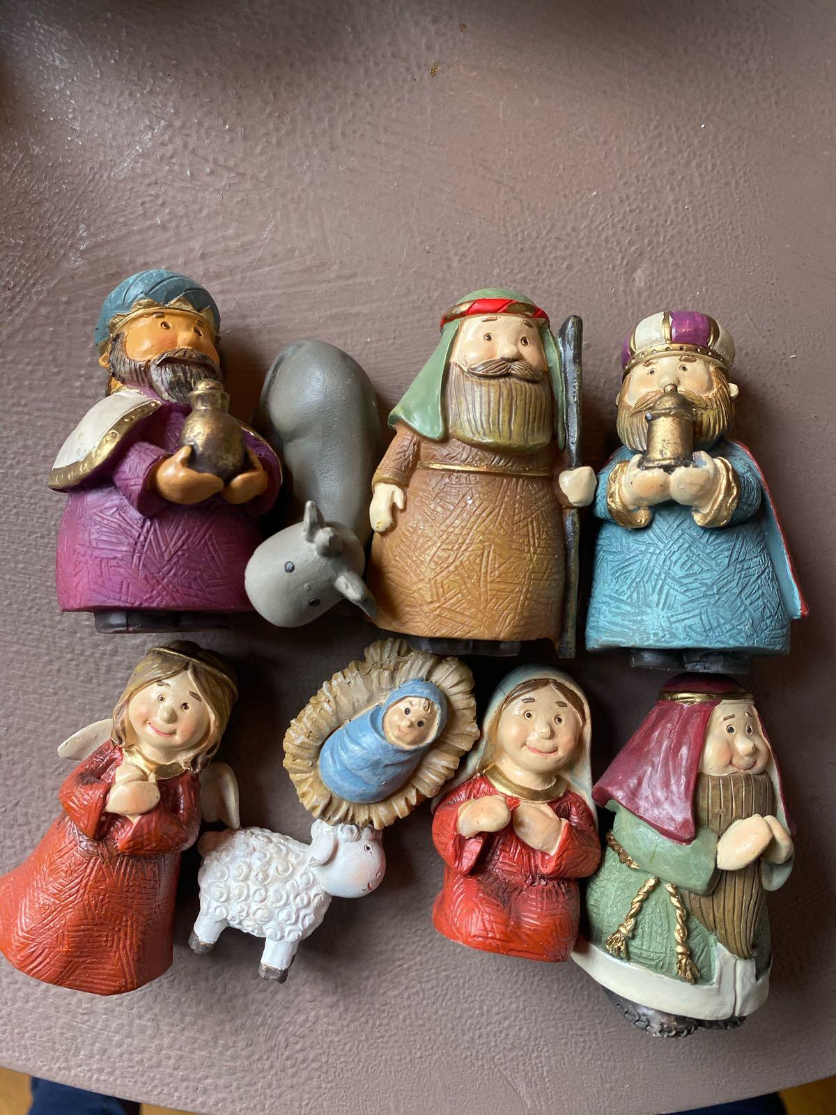Jesus, 3 vise männen - Små Figurer