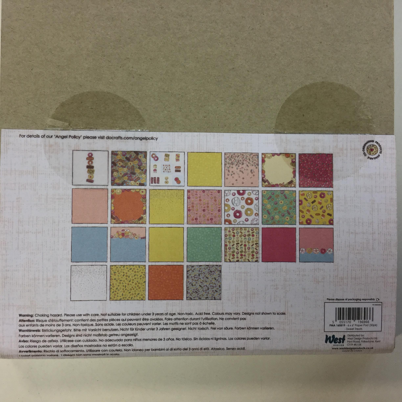 Paperilajitelma Papermania, 6x6