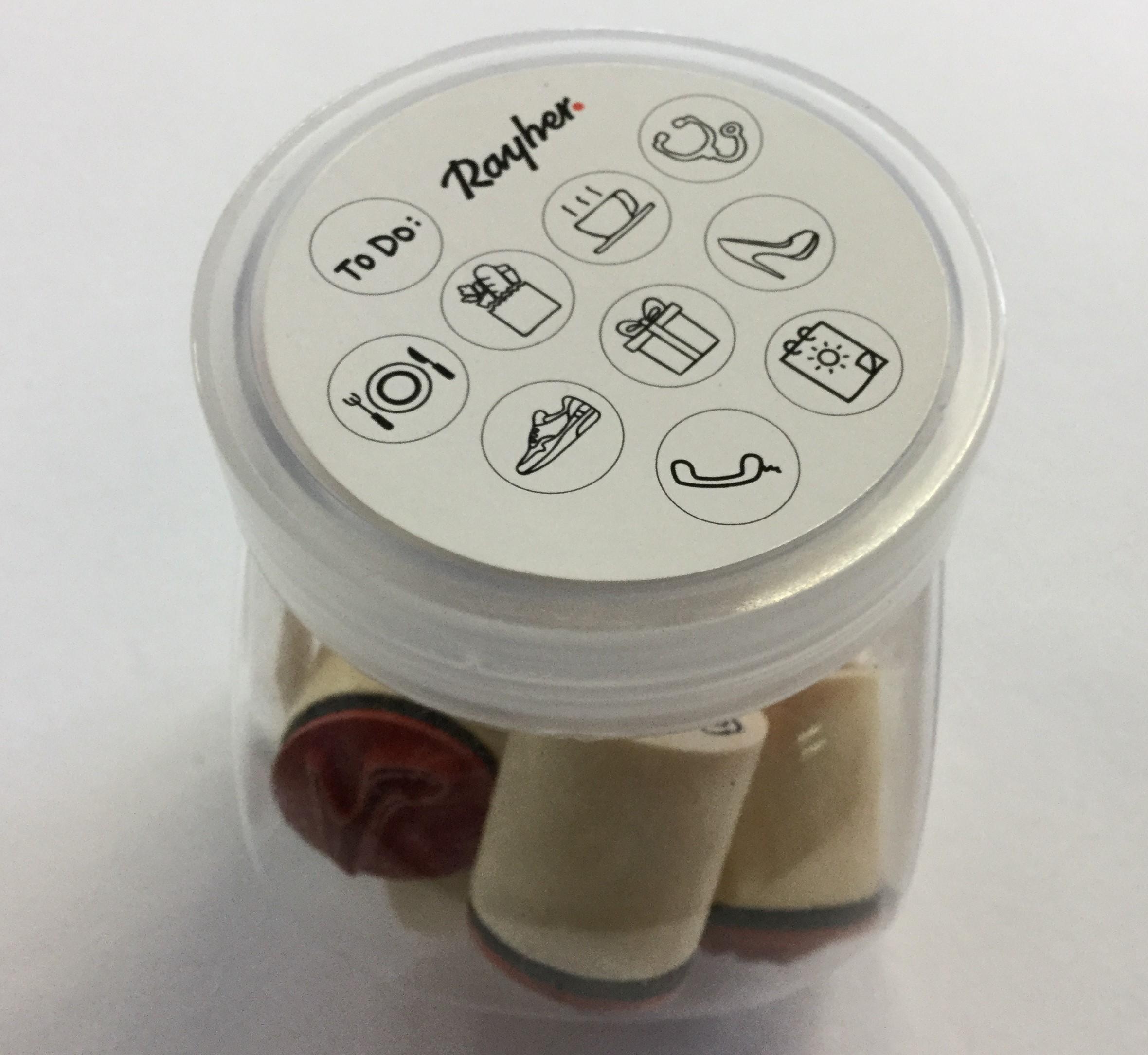 Mini puuleimasinsetti, Rayher, 10kpl, n. 2cm