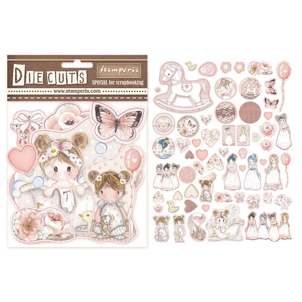 Die Cuts Stamperia, 800g