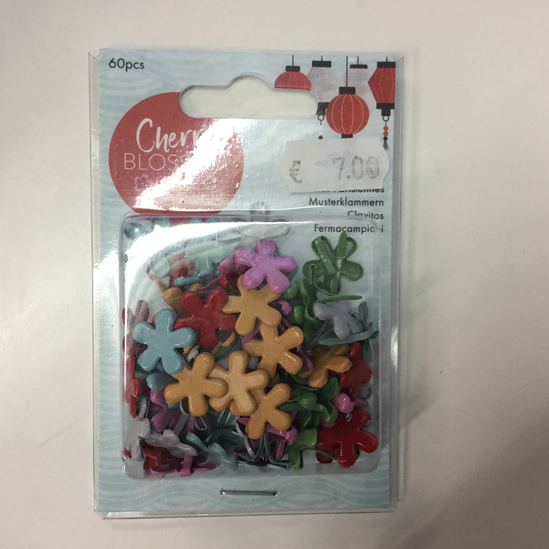 Docrafts Papermania haaraniitit, Cherry Blossom