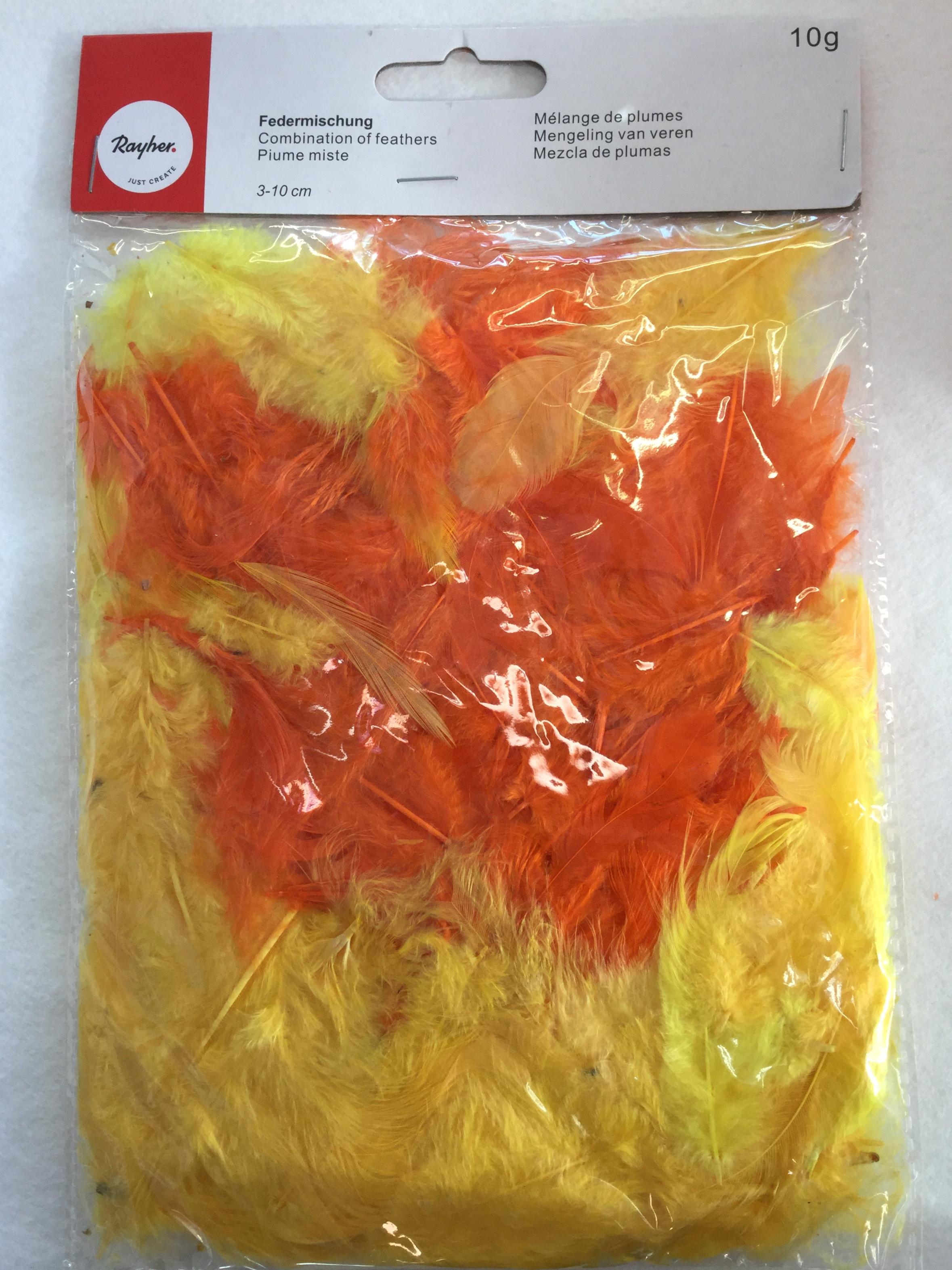 Höyhenpussi, eri värivaihtoehtoja