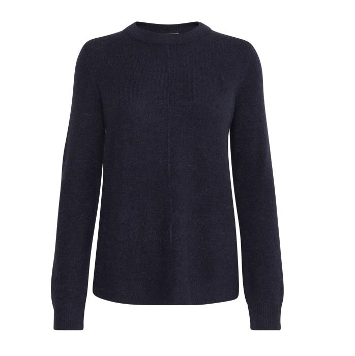 SALE Olympia Crew Neck Jumper Navy was £34.99