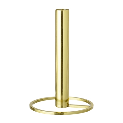 Tall Gold Candlestick