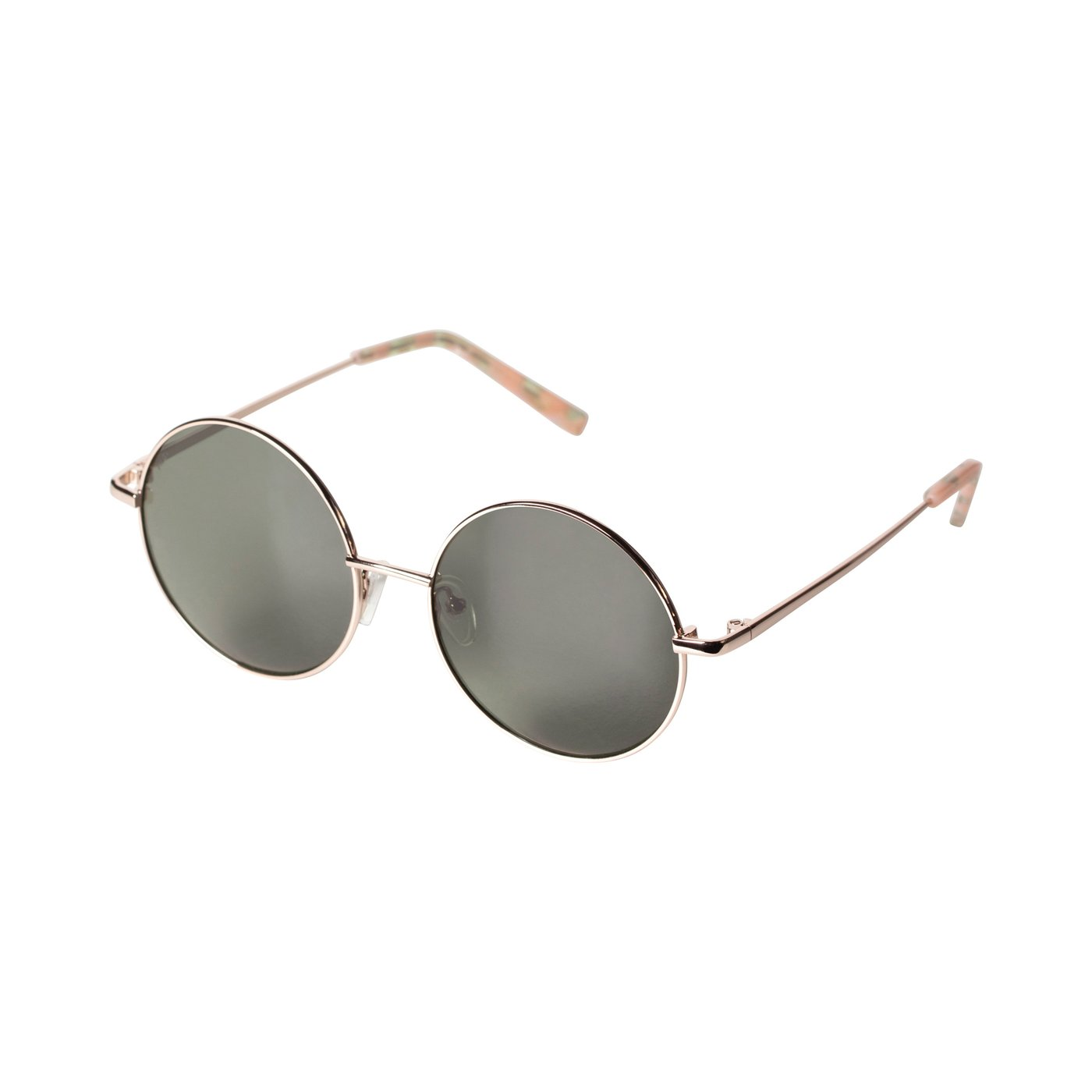 SALE Polly Gold Plated Sunglasses Green