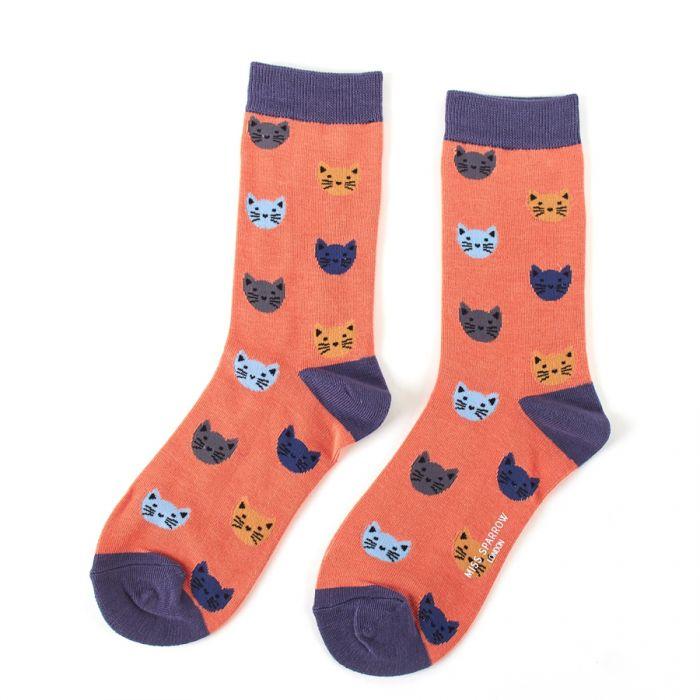Kitty Face Bamboo Socks