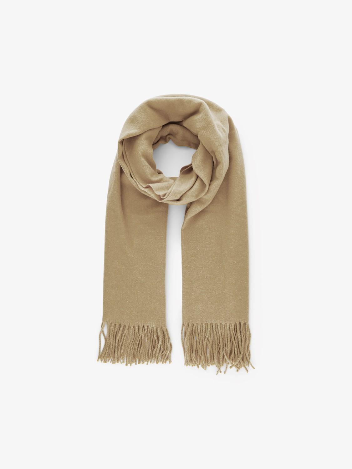 Jira Natural Wool Scarf