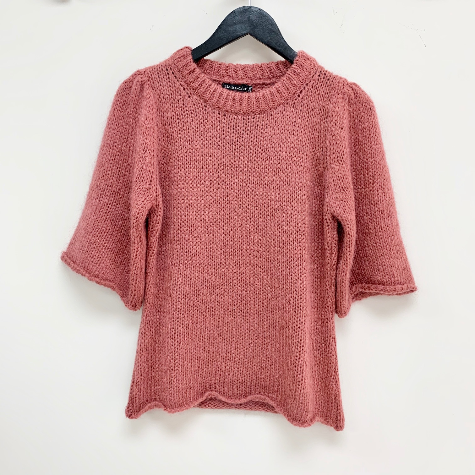 SALE Edith Knit Blouse Rose was £65.00