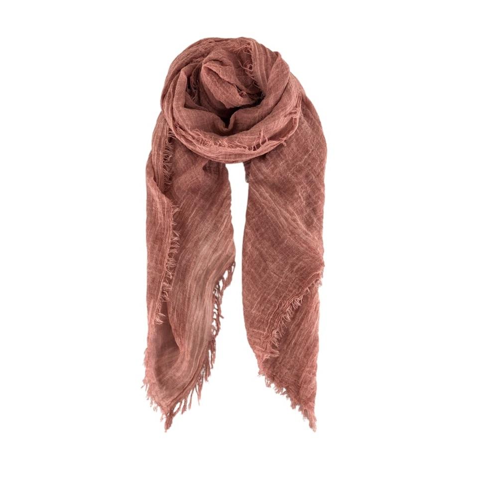 Taya scarf rose