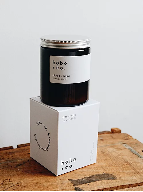 Hobo Soy Candle — Medium