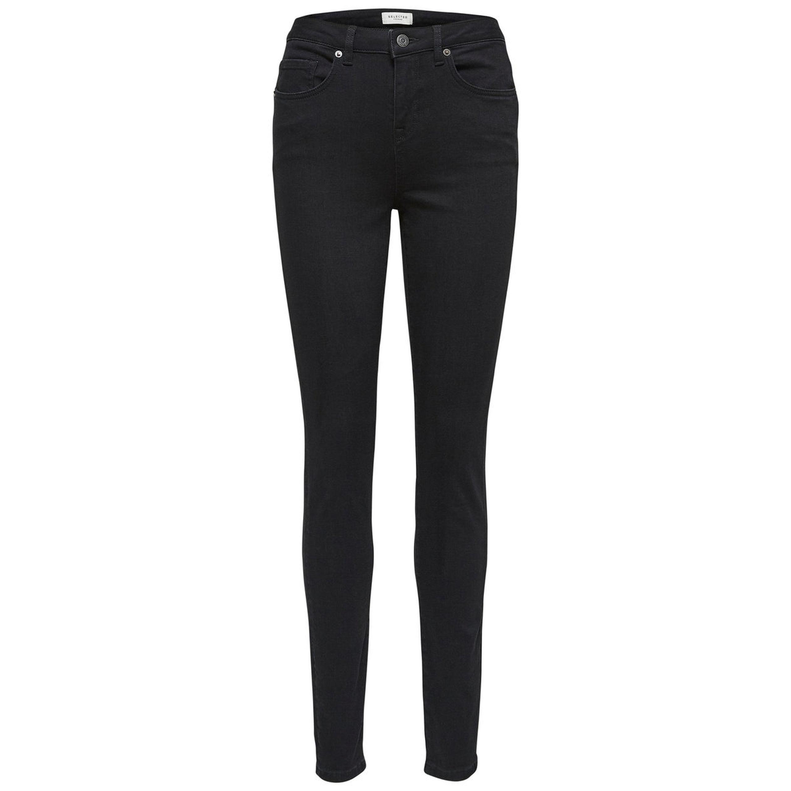 Maggie High Waist Black Skinny Jeans