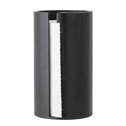 Kitchen Paper Stand Black