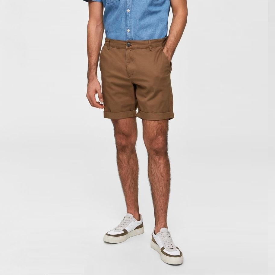 SALE Paris shorts camel